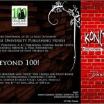 (Updated) DLSU launches Arao's Kon(tra)teksto book, 131 others on June 11